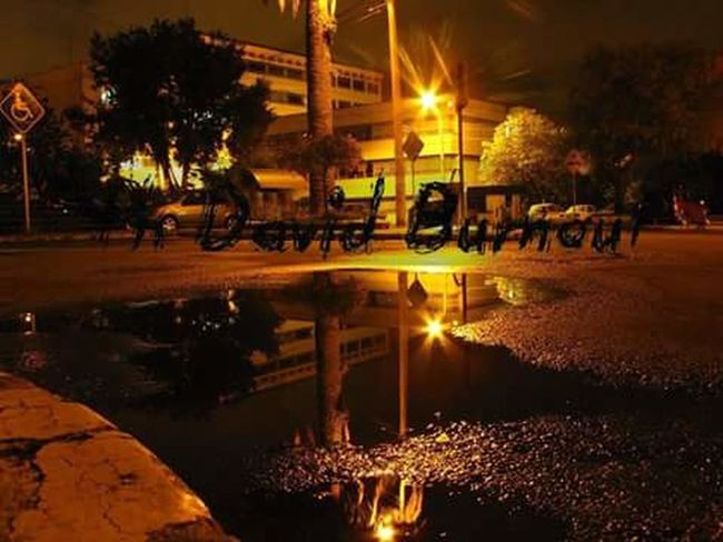 Reflection Illuminated City Night Eyeemphotography Magnumphotos EyeEm Gallery EyeEm Burnoutart Streetphotography Persperctive Exploring Style Water