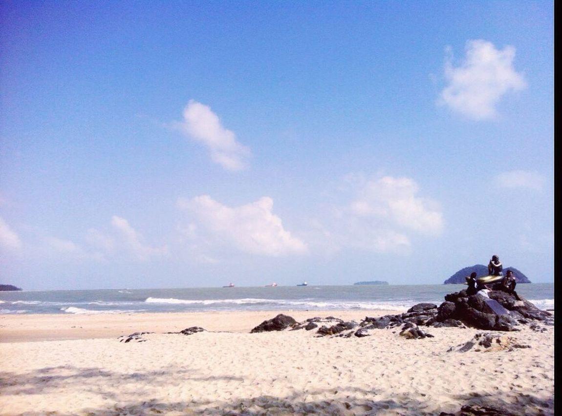 Beach Cloud Blue Songkhla