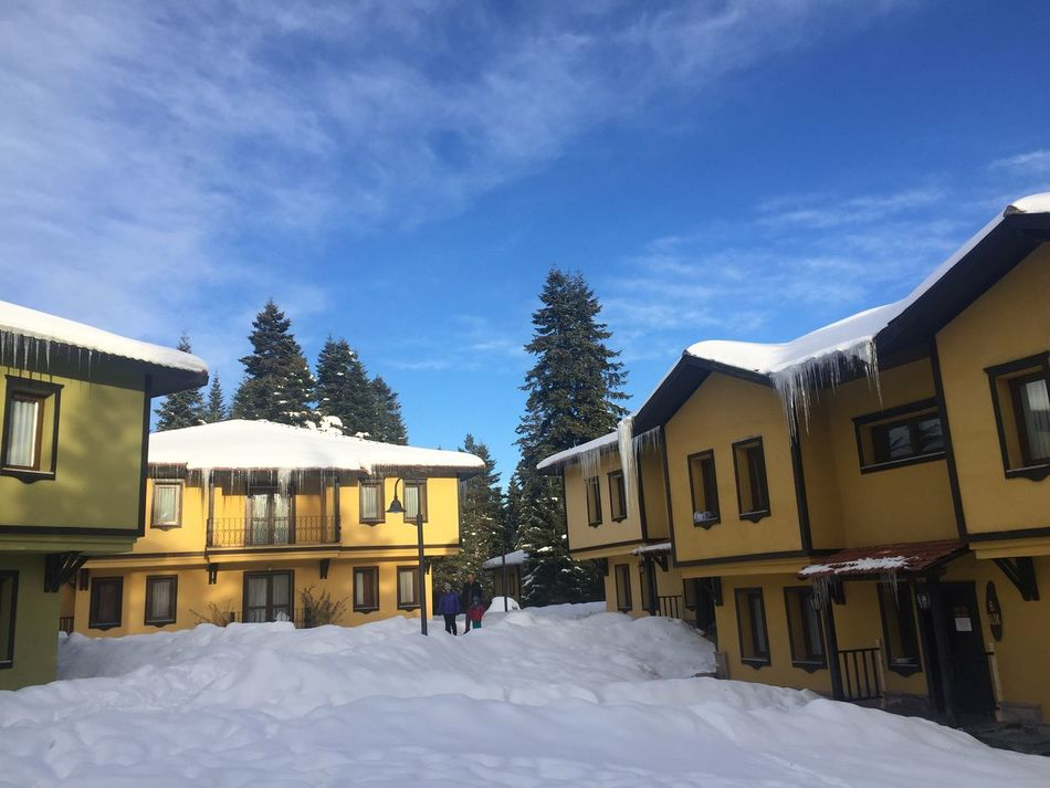 Snow Winter Cold Temperature Sky Architecture Outdoors Tree Nature No People Kastamonu ılgaz Ankara