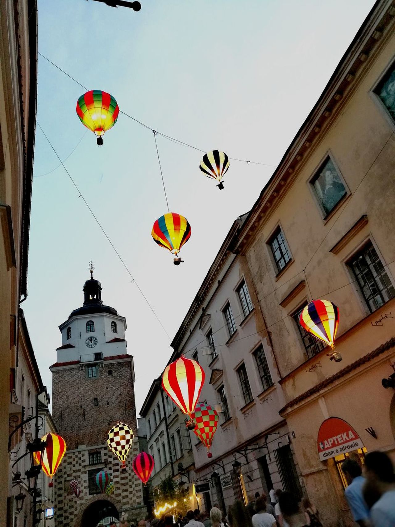 Lublin Grodzka Old Town Ballons Atchitecture Day Lantern Outdoors Travel Destinations Multi Colored Streetphotography Lublin Poland