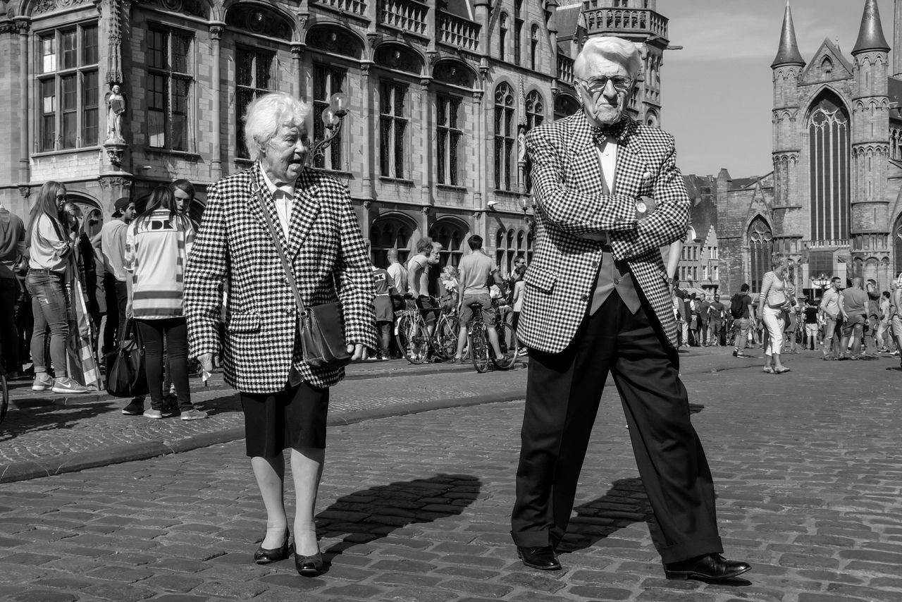 The Street Photographer - 2015 EyeEm Awards Ghent b&w street photography