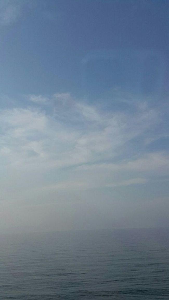 Sea And Sky Lightsea Blue Sky Sunshine Sicily, Italy