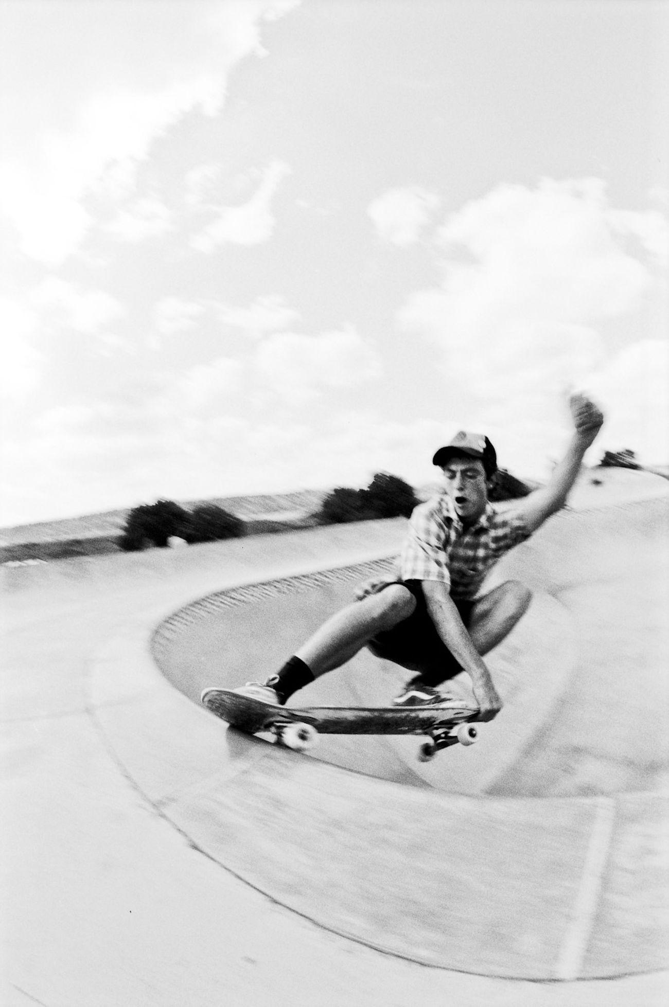 Capturing Movement Skateboarding Blackandwhite Film Youth Punk The Action Photographer - 2015 EyeEm Awards