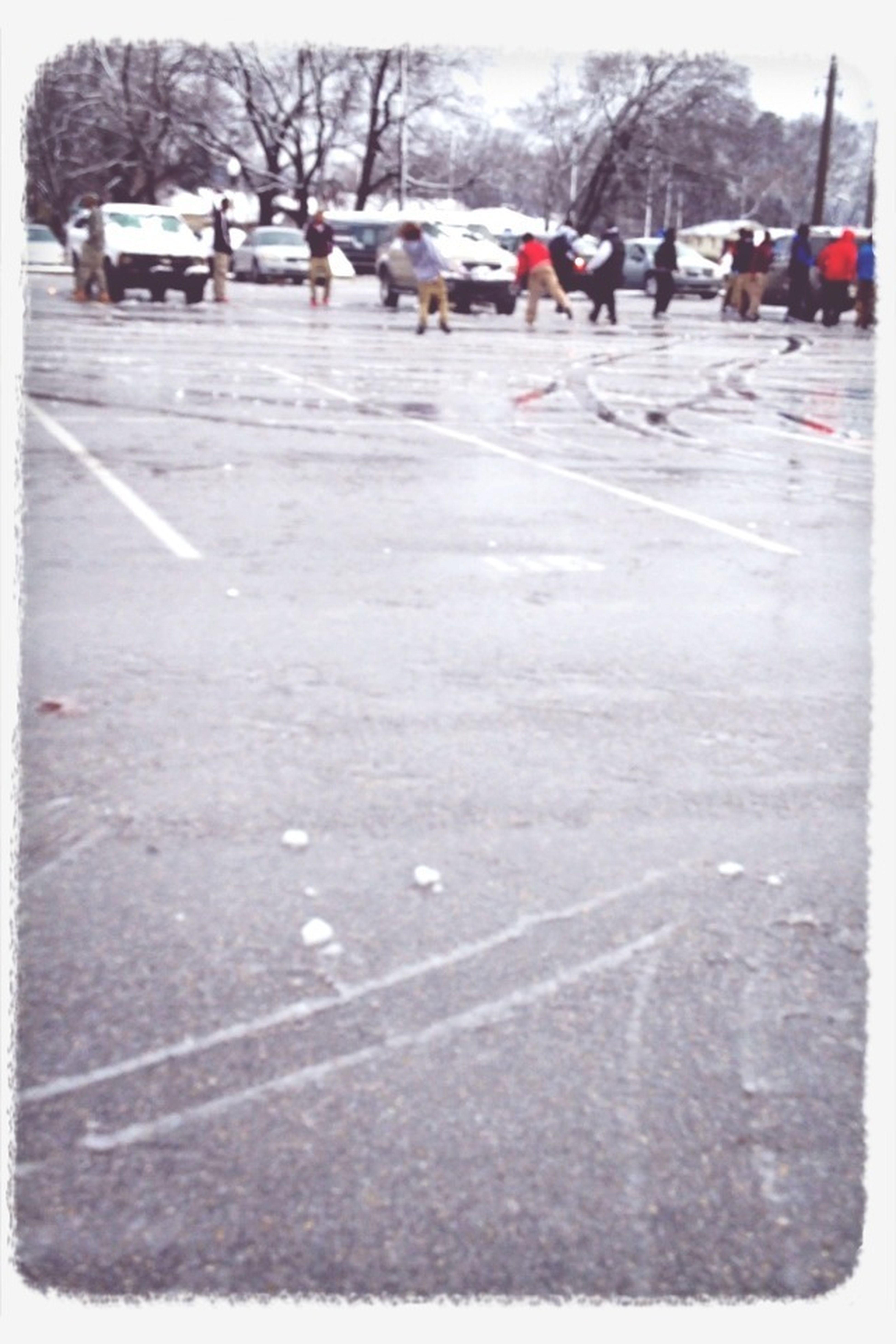 Snowball Fight ⛄❄☁