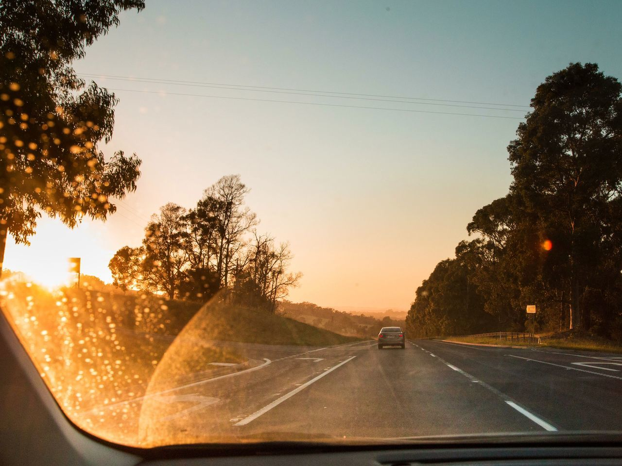 the next great adventure Road Car Windshield Sunrise Sunrise_Collection The Way Forward Transportation Car Point Of View Journey Driving Road Trip Dashboard Nature Outdoors Sky The Great Outdoors - 2017 EyeEm Awards Travel Traveling Travel Photography