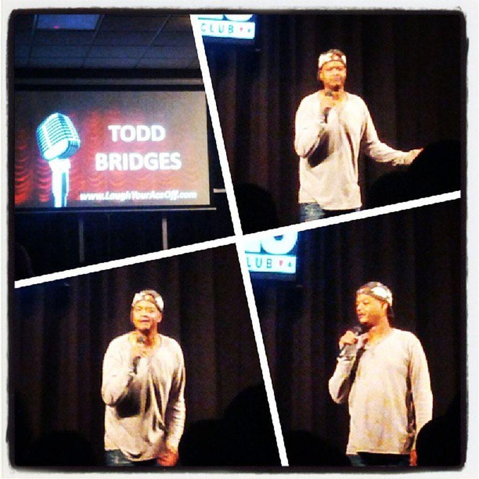 Todd Motherfucking Bridges! Differentstrokes Trutv Acescomedy @daisyditzydo