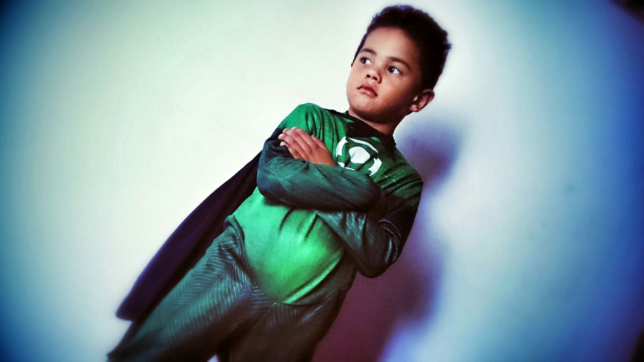 Cute My Cousin Littleboy Green Lantern  Cosplay Kid Check This Out