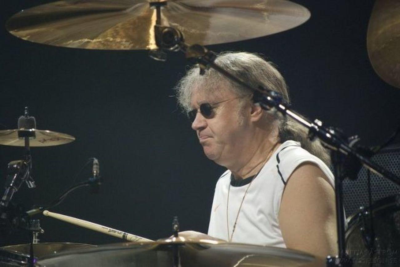 Ian Paice from Deep Purple. Classic Rock Deep Purple Drummer Live Music