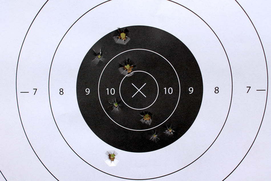 Beautiful stock photos of target, Accuracy, Bullet, Bullet Hole, Circle