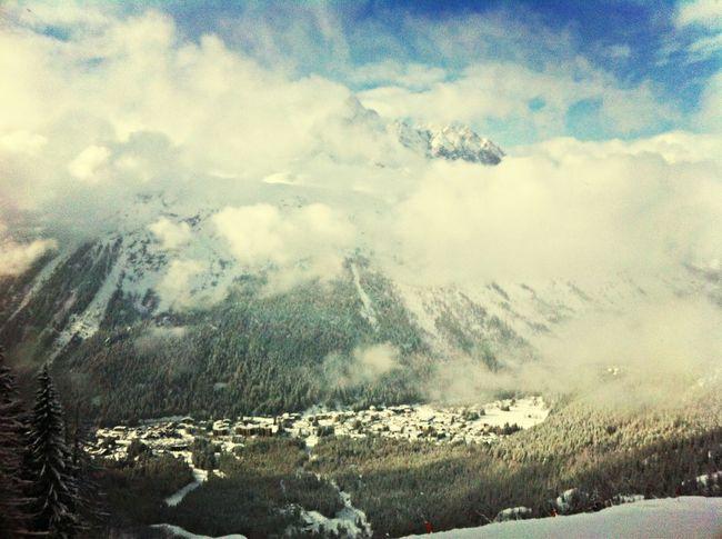 Snowboarding Mountains