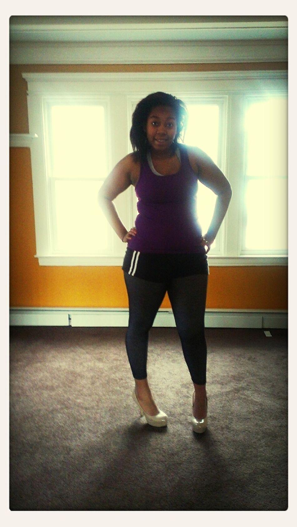 Wearing My Mommy's Heels ♥