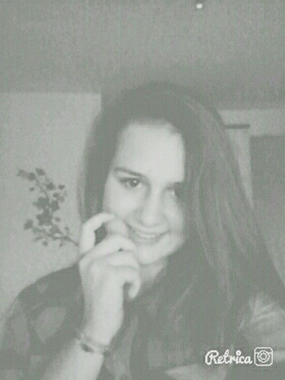 Girl Smile That's Me Hi!