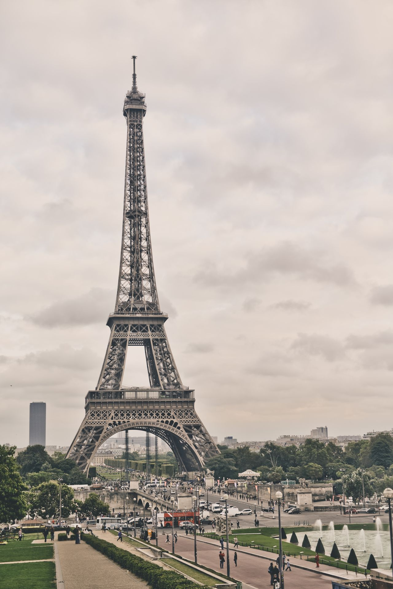 Beautiful stock photos of eiffel tower, Architecture, Capital Cities, City, Cloud