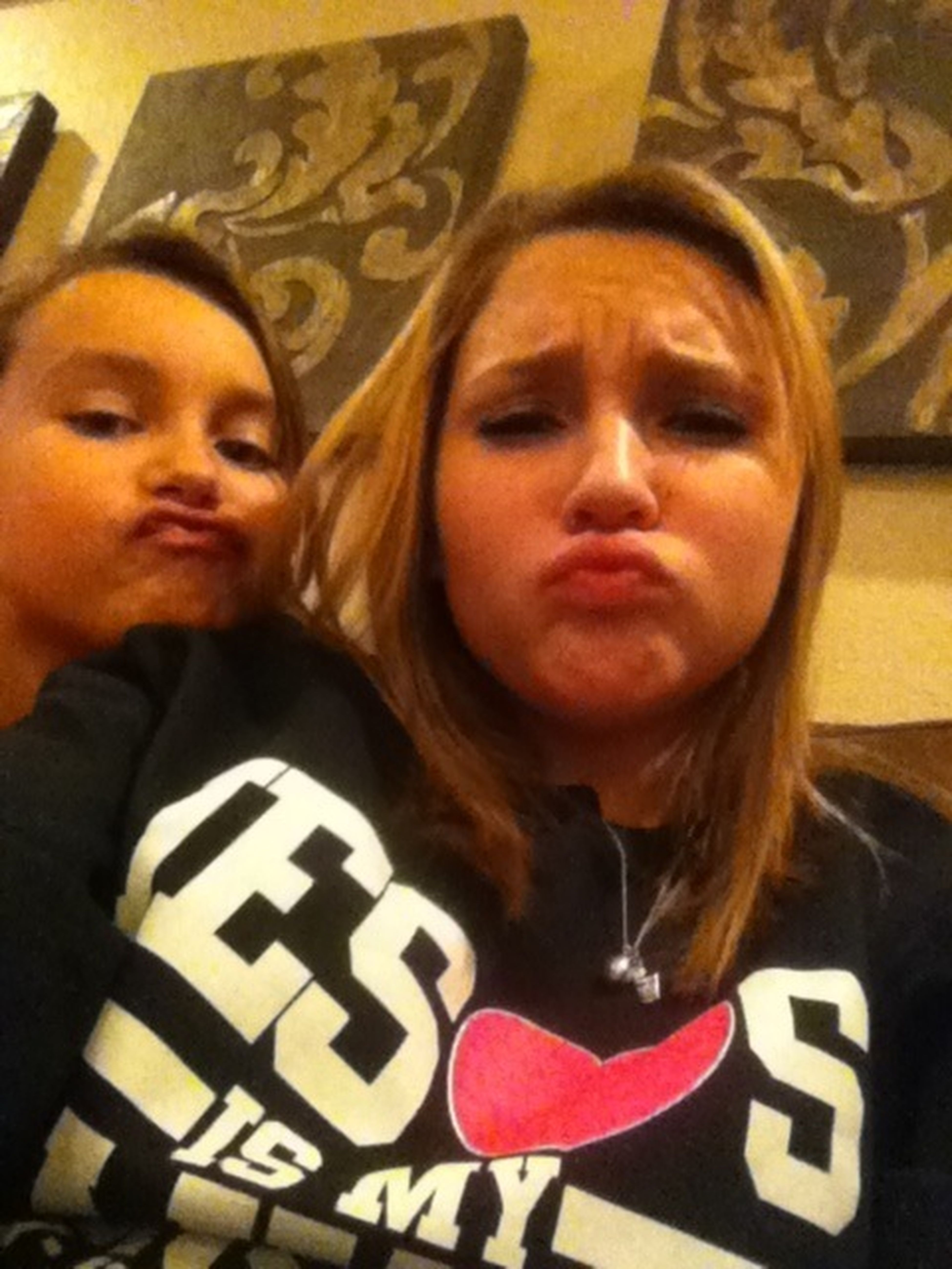 Duck Faces With The Cousin