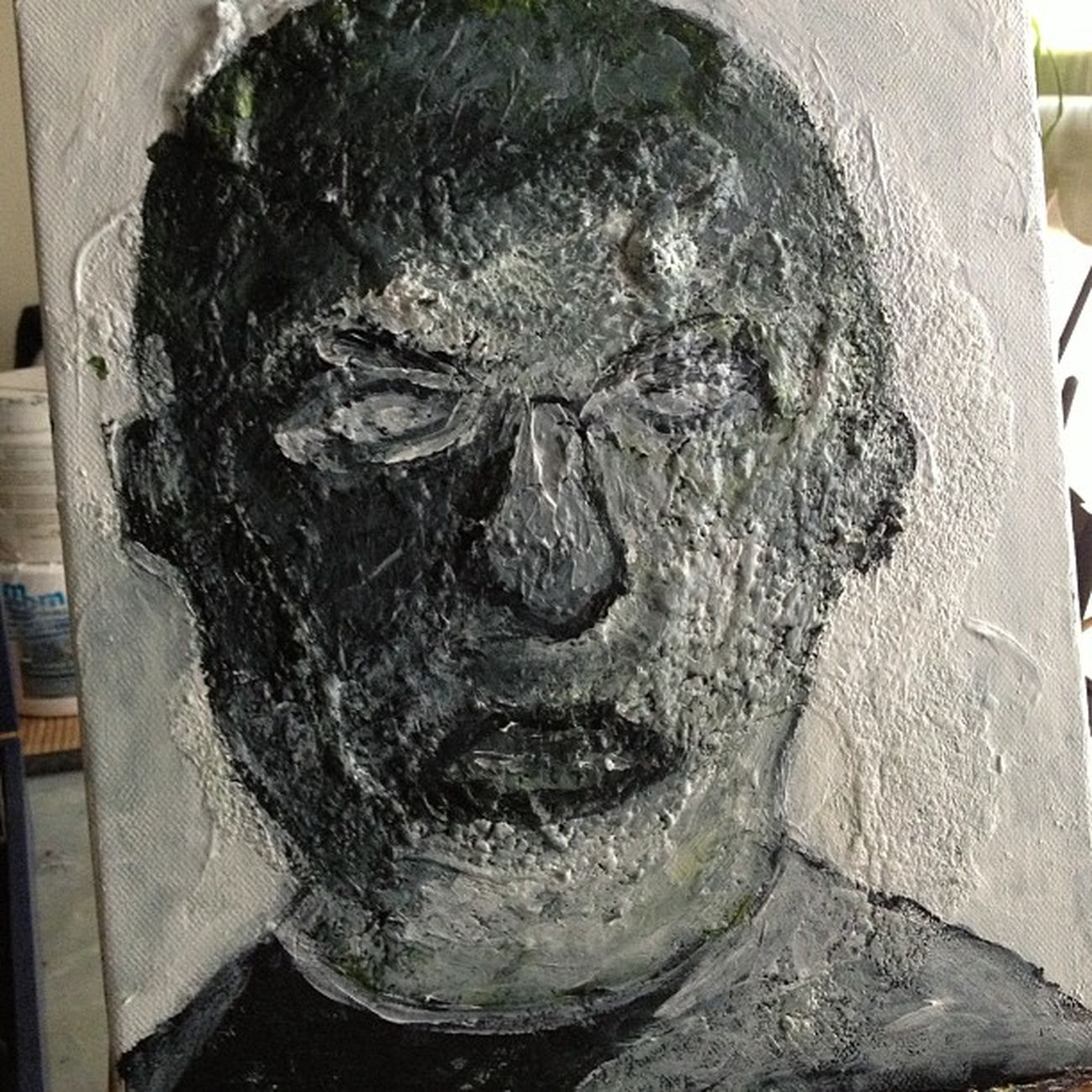 Figura 4, Puede ser que quizás sea Sr. Picasso Art Arte Negua paint pintura