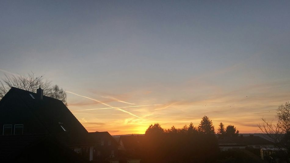 Good morning world! Sunrise Sunshine ☀ No Edit/no Filter Hello World EyeEmBestPics Buildings & Sky Enjoying Life Check This Out First Eyeem Photo Eye4photography  Landscape Germany Sunsetporn Sunset_collection Sky_collection Flightline The Great Outdoors – 2016 EyeEm Awards