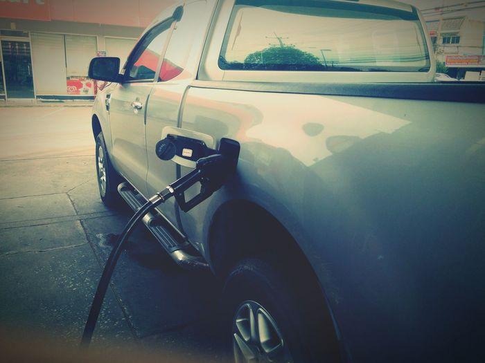 Fuel Gas Up Gas Station Diesel Fuel Truck Refuelling Refuel Refill