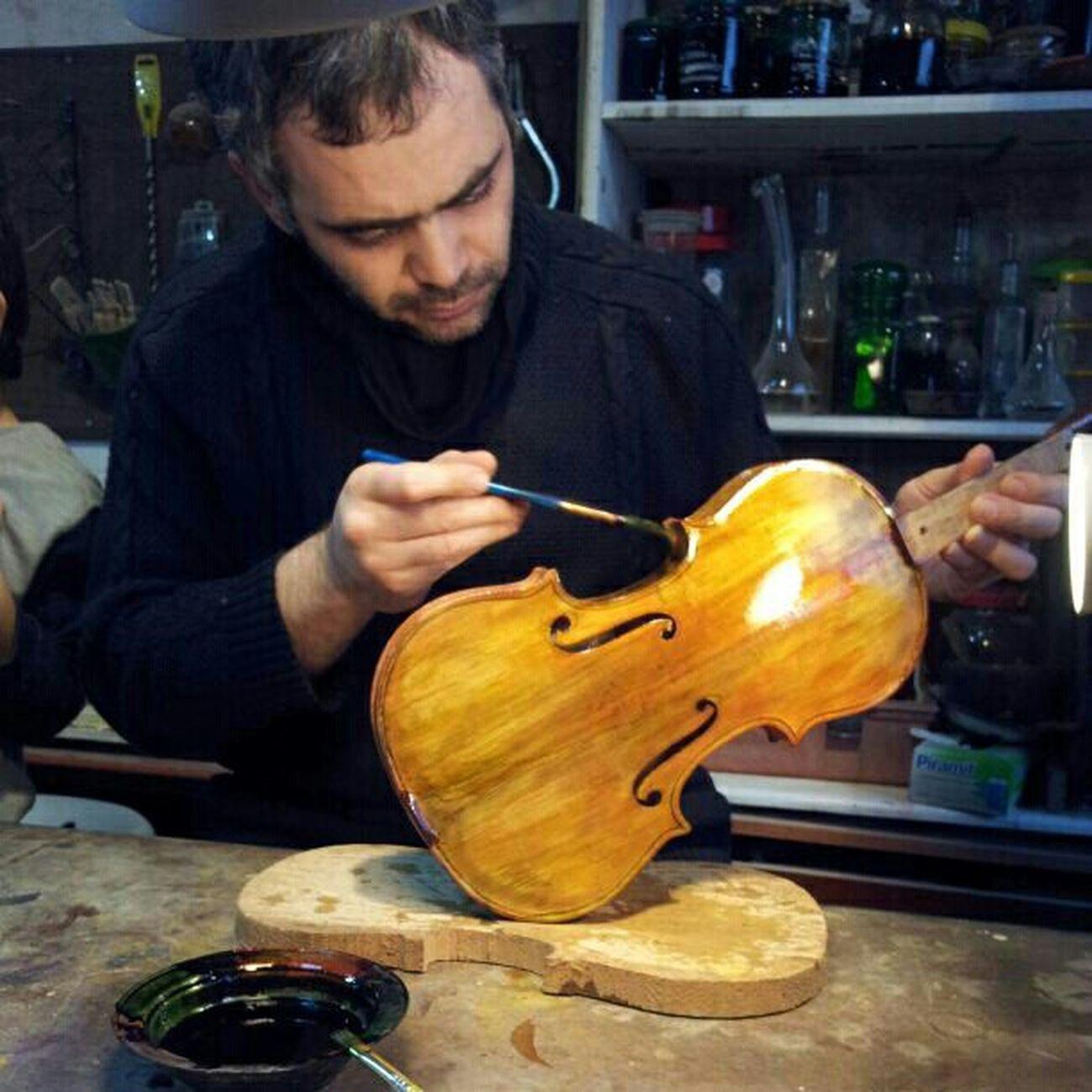 Luthier İstanbul Luthier At ölyeİstanbul Hgstudyo HandMade Violin Viola Cello KışÇalışması Keman KemanOkulu Gfarukunal