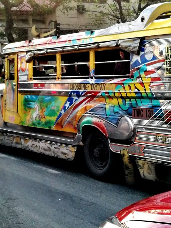 Commute Transportation Jeepney Jeepney Art