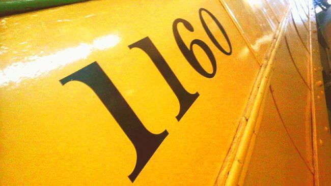 1160 Train Station Metal Trolly Old Train Pretty Yellow New