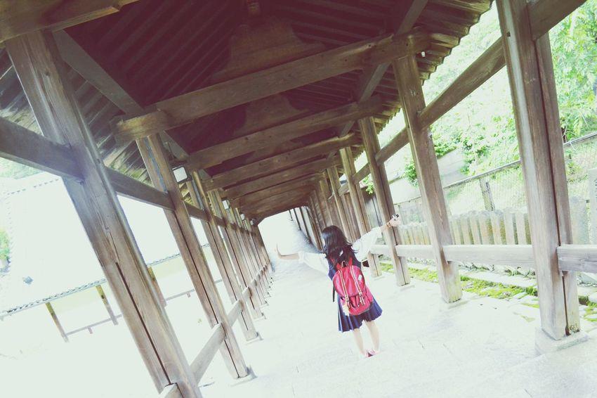 京都 二月堂 修学旅行