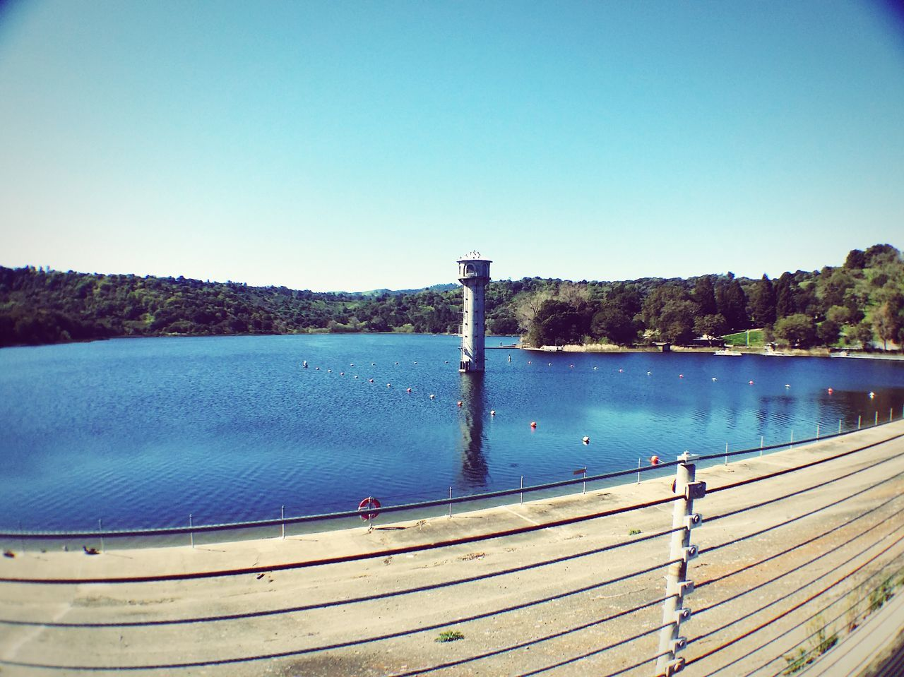 clear sky, blue, water, no people, day, river, outdoors, nature, scenics, beauty in nature, tree, sky