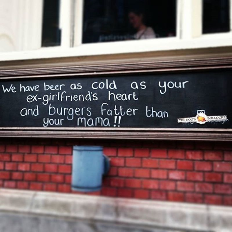 Beer Burger Advertising Assimpleasthat Groningen Dogsbollocks