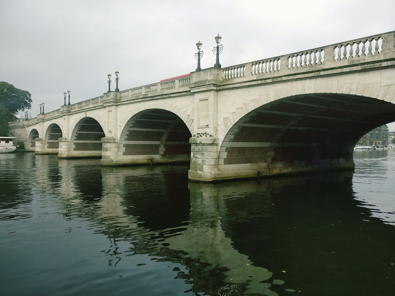 Reflection Bridge - Man Made Structure Water Built Structure Outdoors Connection City Architecture LONDON❤ Kingston Upon Thames River