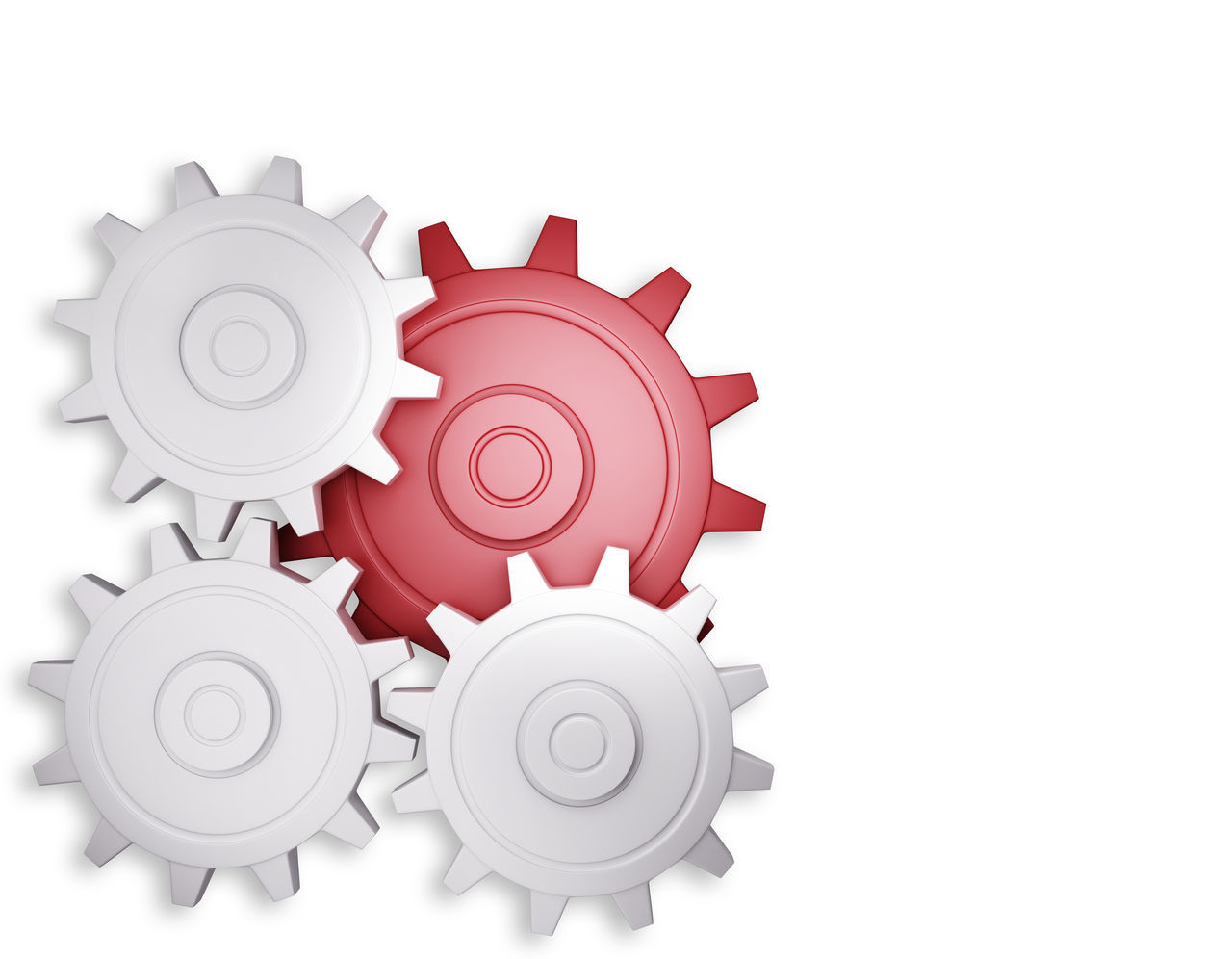 Abstract Concept Conceptual Gear Idea Industrial Industry Isolated No People Technology Time White Background