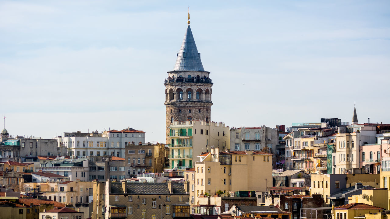 Galata Tower Architecture Building Exterior Built Structure Business Finance And Industry Byzantine Empire City Cityscape Clock Europe Galata Galata Kulesi Galata Tower Galatakulesi Istanbul No People Ottoman Empire Outdoors Sky Tower Travel Travel Destinations Turkey Türkei Türkiye Urban Skyline