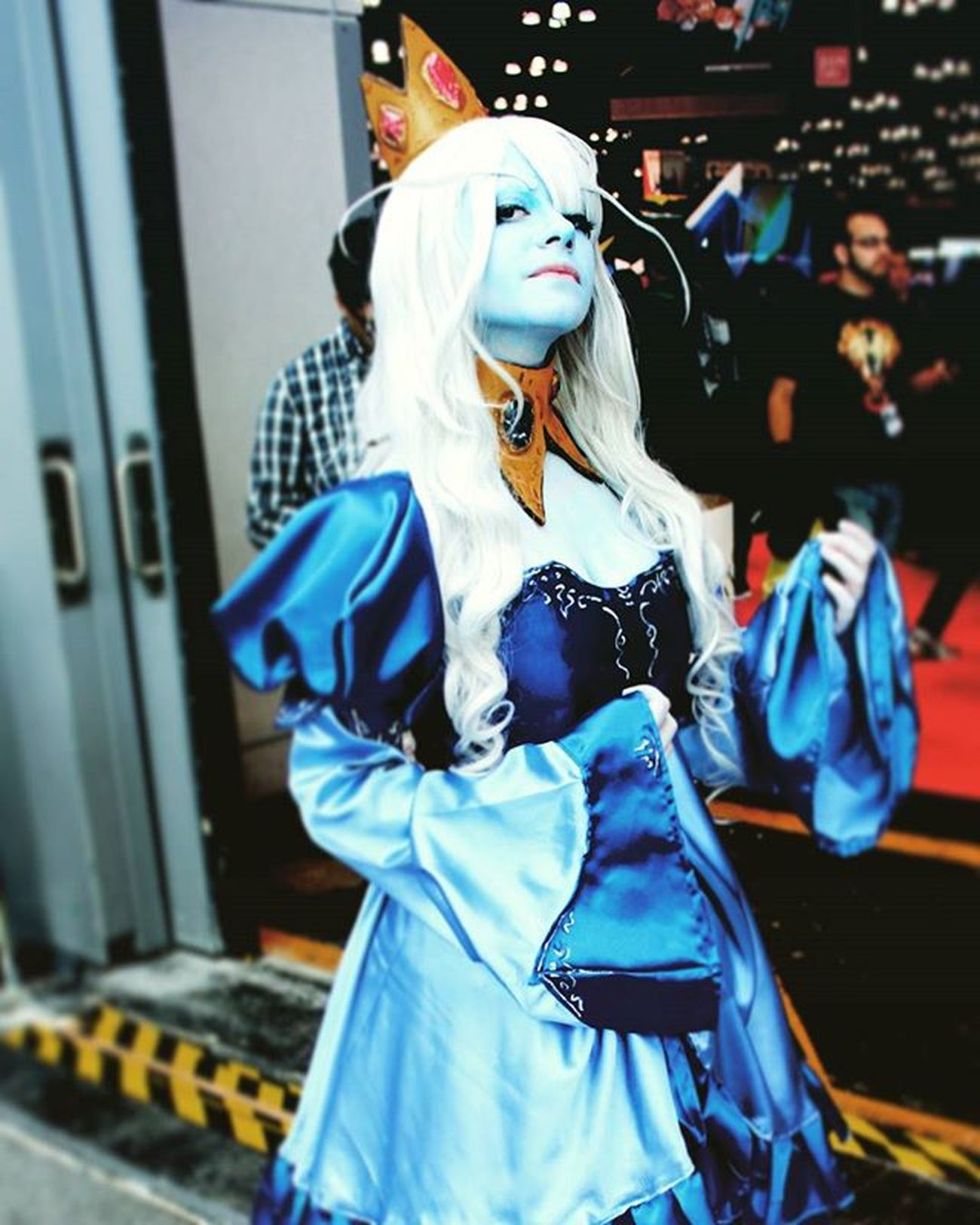 Photo by @tpa_trigger Photography Model Cosplayer Ccon15 Comiccon Cosplay CC Con Nycomiccon Internationalcosplayday NYC Cosplaygirl Cosplayers Cosplayday EventPhotography Photographer Photography Eventphotographer Cc15 Nycc15 Anime Manga NYCC Newyorkcomiccon Costume NyComicCon ComicCon manga iceking adventuretime