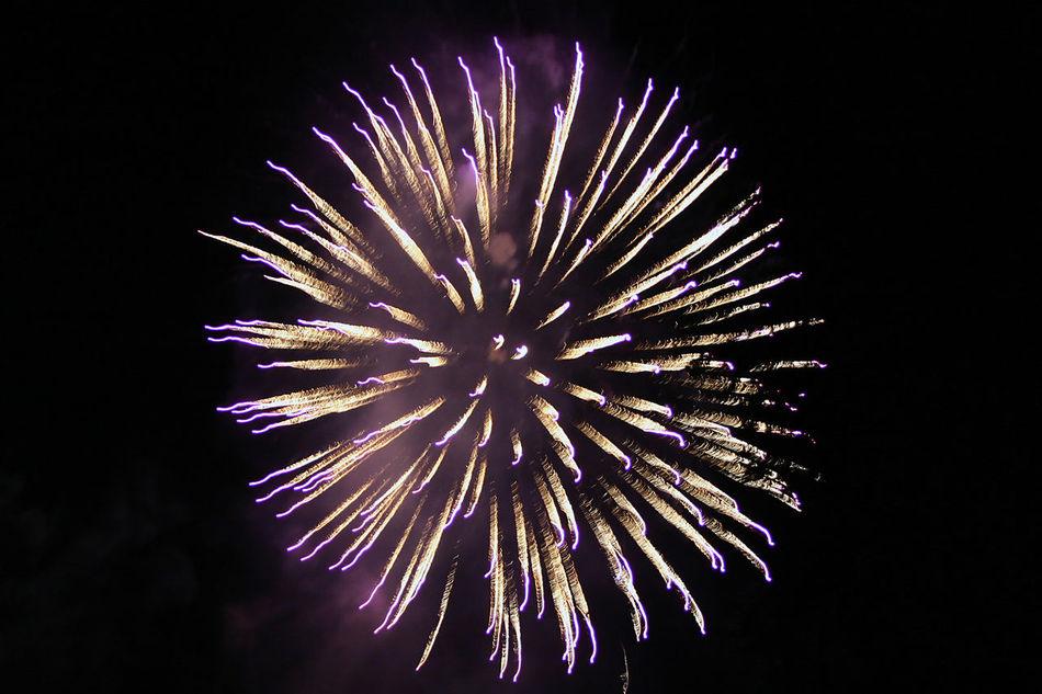 Colour Colourful Fireball Firework Firework Display Night Outdoor Sylvester