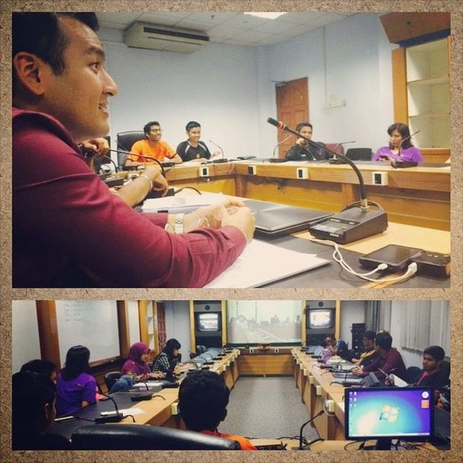 Students' Representative Council of MMU 's final video conference meeting before the council dissolves. SRC MMU