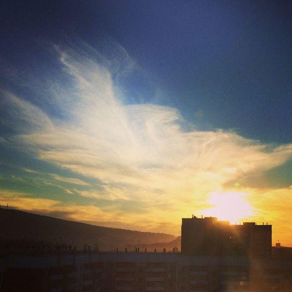 Sky Sunset Ulan-Ude