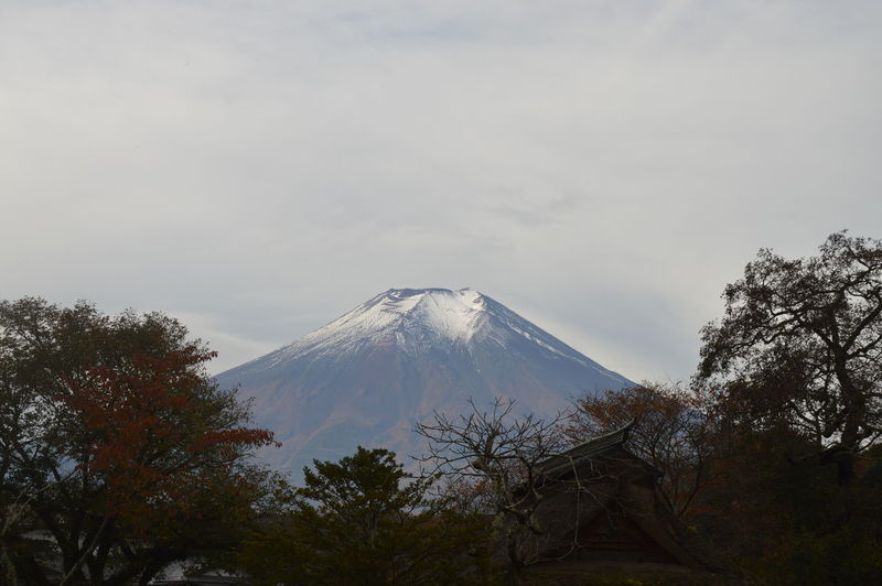Day Fujimountain Japan Landscape Mountain Nature No People Nofilter Snow Volcano