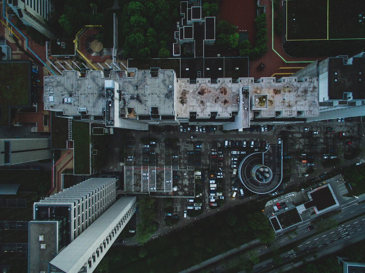 Architecture Built Structure Building Exterior No People Connection Technology Outdoors City Day Drone
