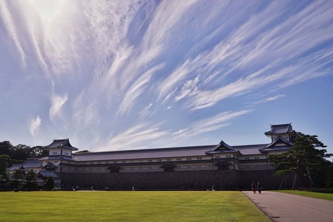 Cloud_collection  Castle Japan Green Grass Culture Blue Sky