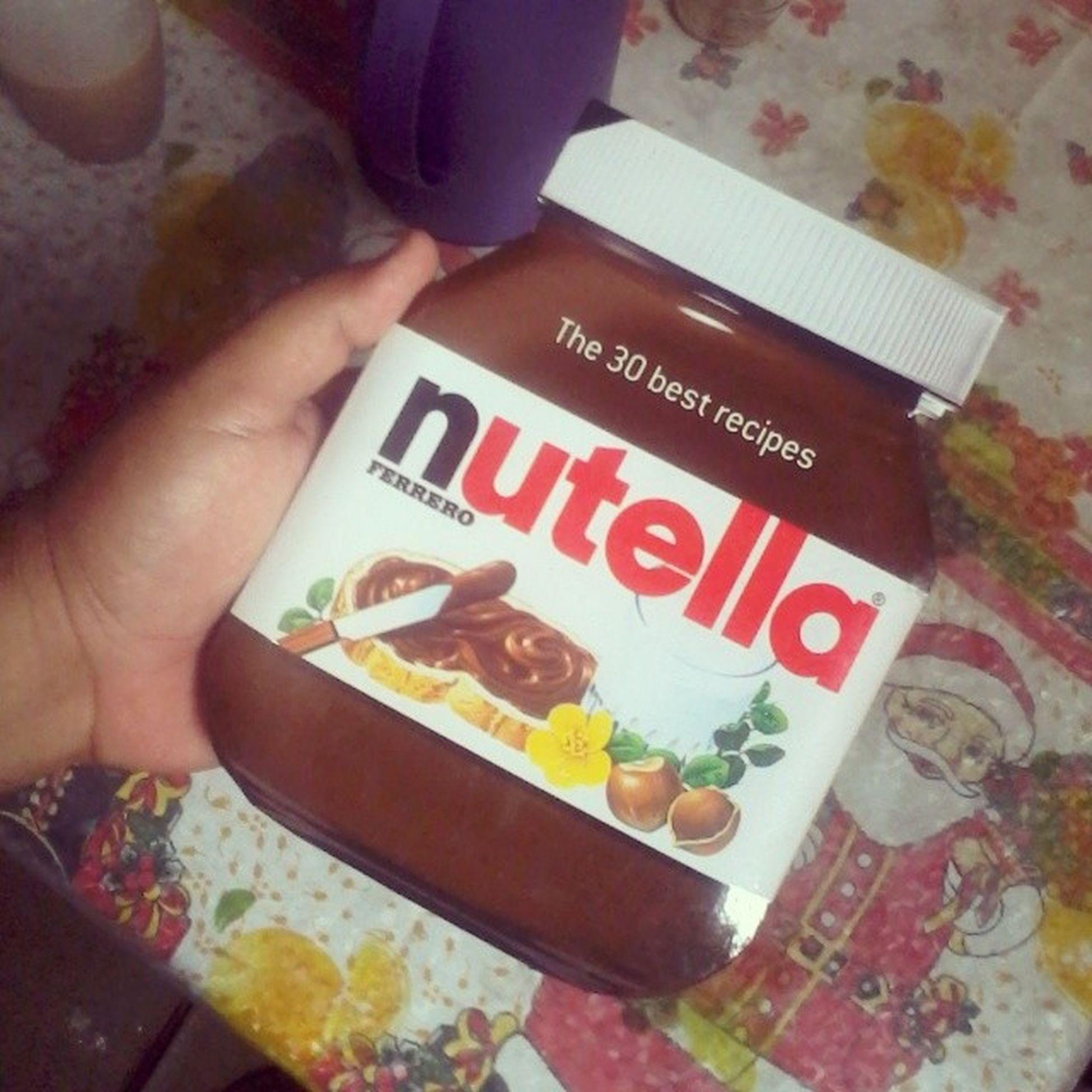 Hoje tomarei prática desse simples manual de Gordices na base da Nutella ... Partiu Engorda mais10kilos hahuhauhauhau