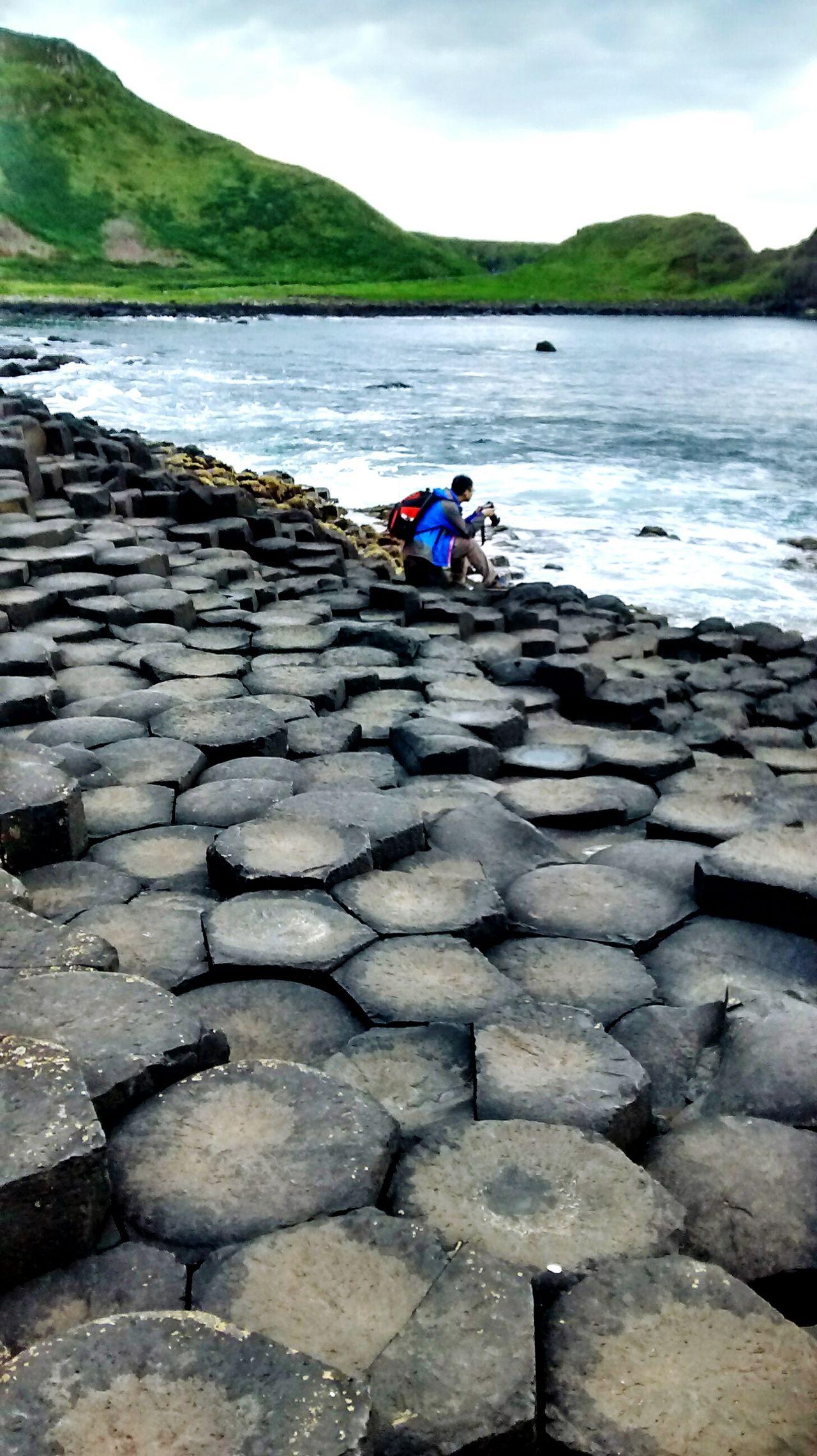 Of Unraveled Mysteries.. The Tourist #Ireland #stones Preciousstones #Hexagonal #HexagonalStones #Hexagon Nature