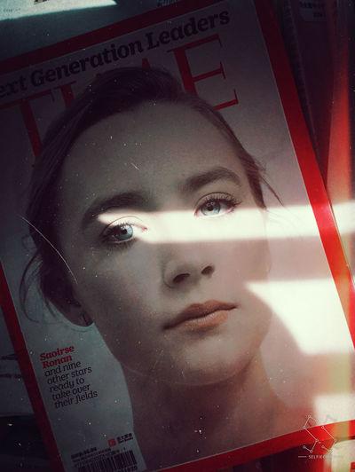 TIME Light And Shadow Magazine Times Book Beauty Eyes Smile Generations Saoirseronan HongKong