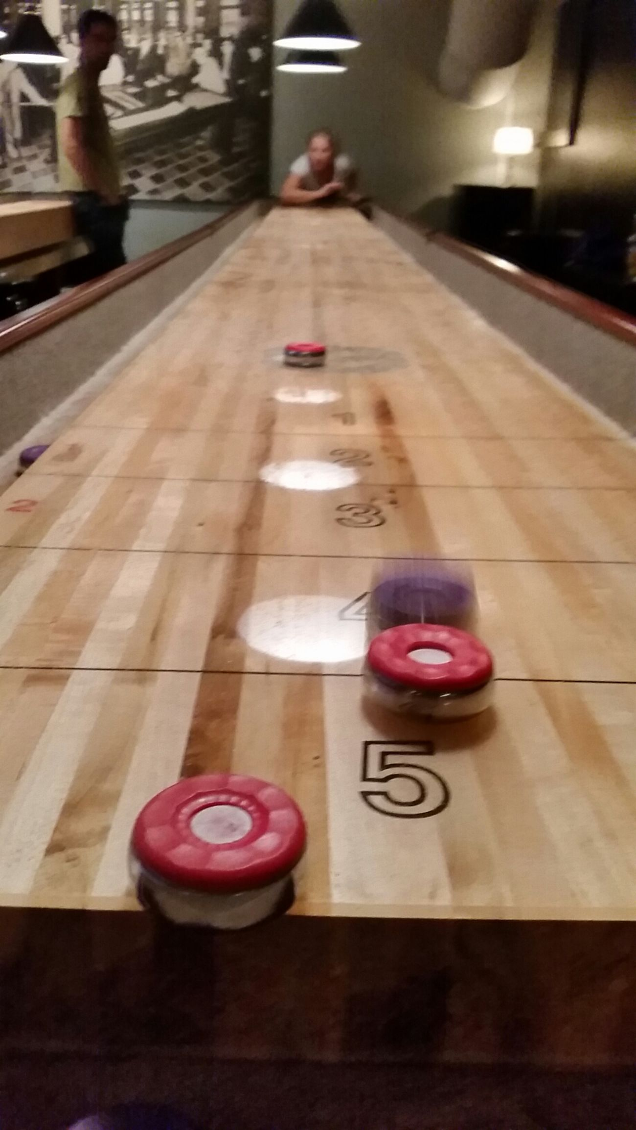 Playing Shuffleboard @ Interpool, Malmö. Friends Shuffle Board Night Out Enjoying Life