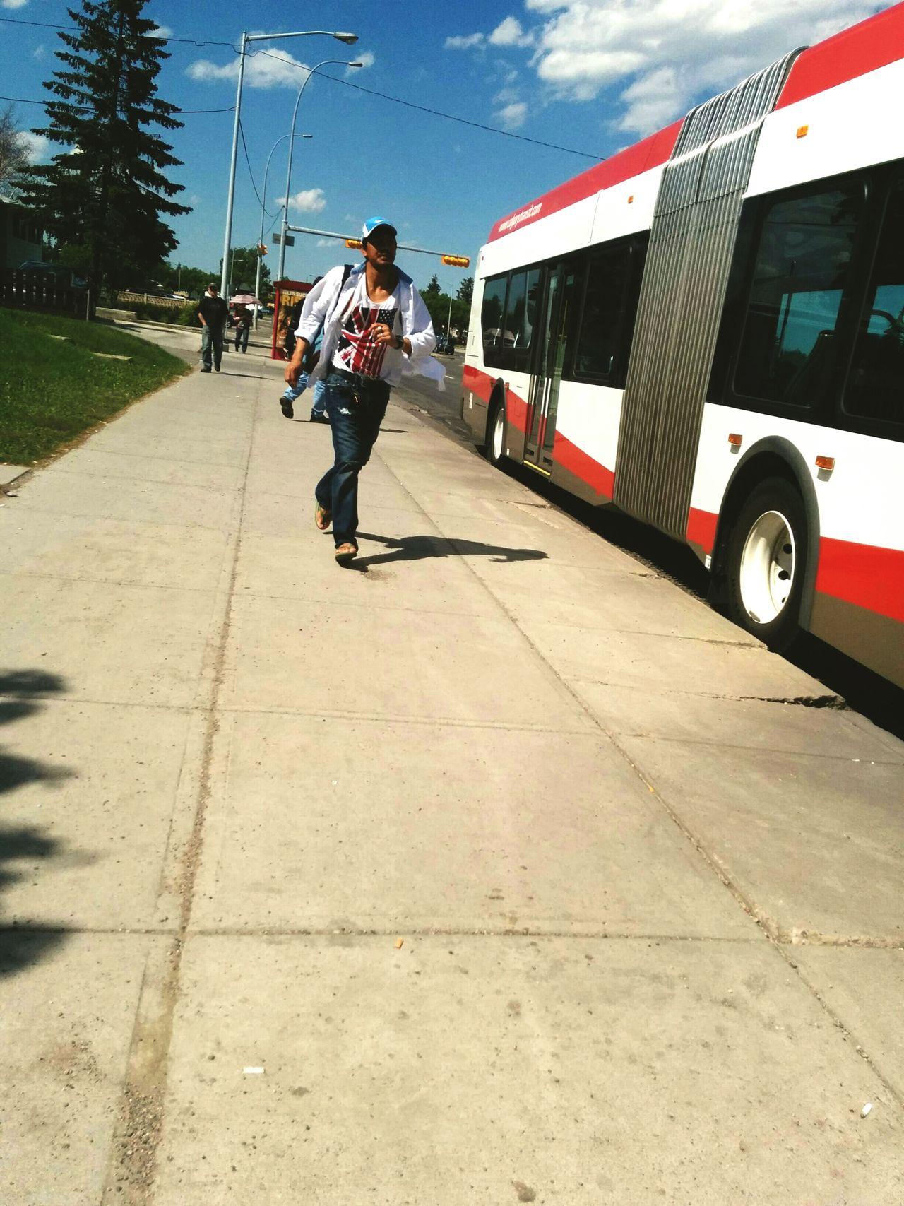Running Bus