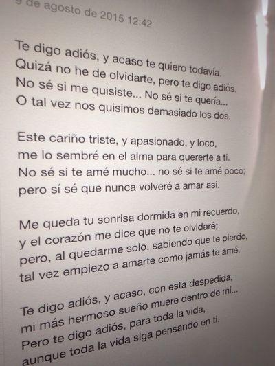 Soul Poem Farewell