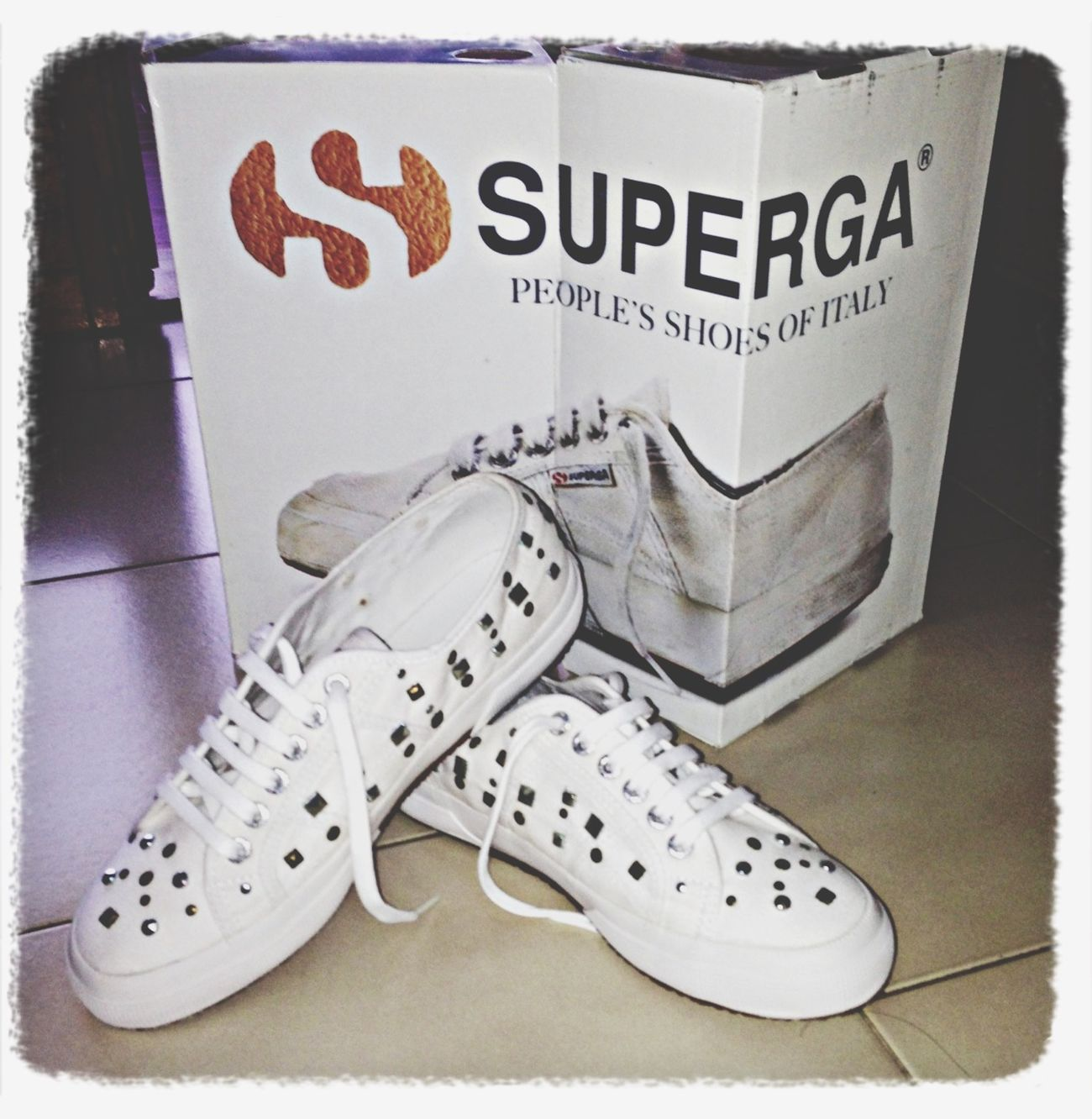 Loving My New Shoes I ❤ SuperGa