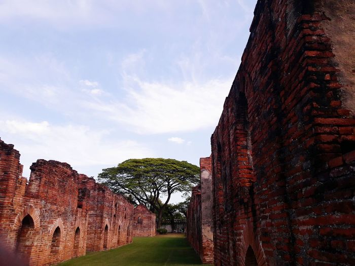 Tree History Ancient Architecture No People Military Sky Outdoors Thailand Travel Nature Day