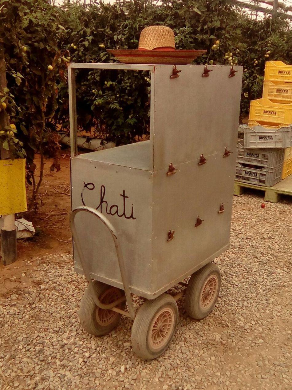 Chati Cart Tomato Aduane Work Hat Mister
