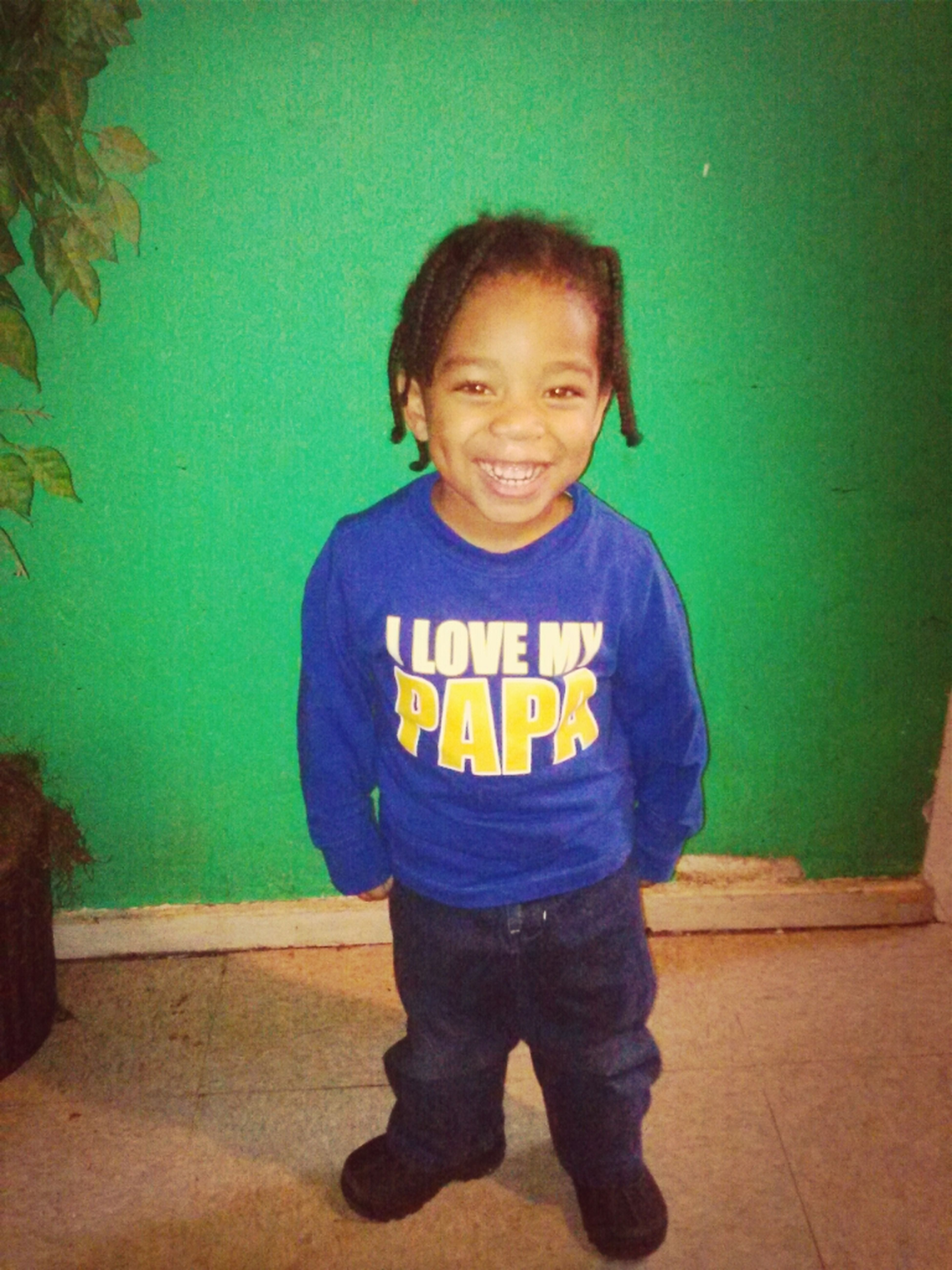 Lil Brother : )