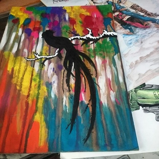 Quetzal Cute Animal MyDrawing Drawing Love Art Painting ???✌