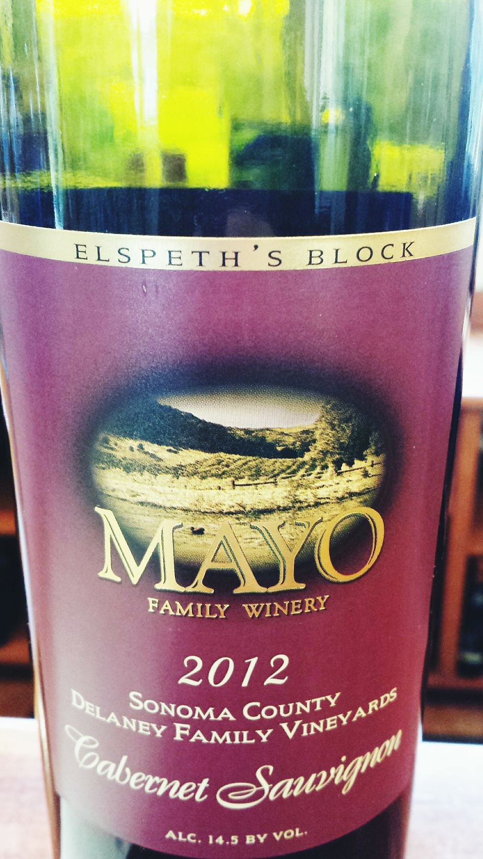 I pretty much HAD to try this one, yes? Mayo Family Vineyard Sonoma Wine Country I Miss My Kitteh