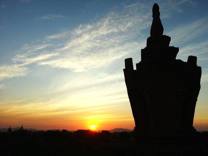 Sunset in Burma. Showcase March